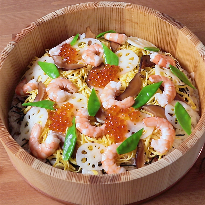 寿司 具 ちらし の