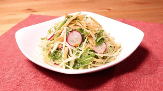 お野菜いっぱい!色々試せるサラダ特集