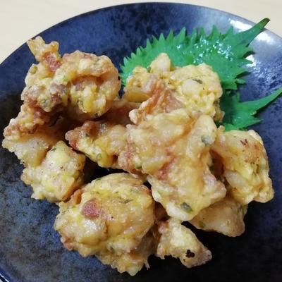 変わり衣のサクサク肉天 作り方・レシピ   クラシル