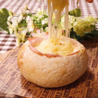卵が濃厚 トロトロチーズポットパン