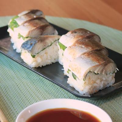 焼きしめ鯖のさっぱり押し寿司