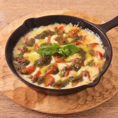 カチョカバロとトマトのとろーりグリル