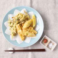 ほろっと シンプル長ねぎの天ぷら