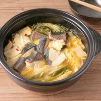 ピリ辛コクうま 味噌バター味のぶり鍋