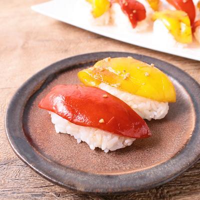 パプリカ寿司