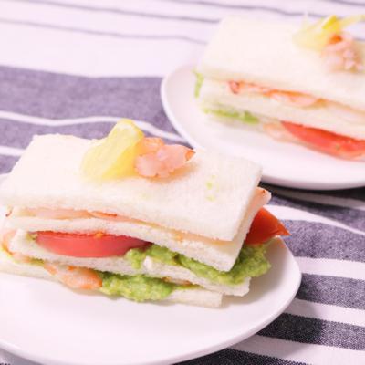 ミルフィーユ風サンドイッチ