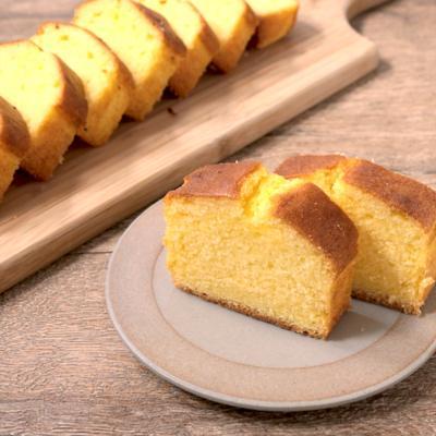 シンプル プレーンパウンドケーキ