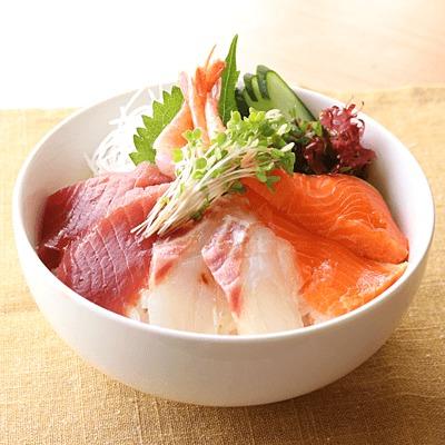 簡単 海鮮丼