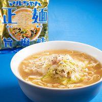 マルちゃん正麺公式 鶏のガーリック旨塩ラーメン