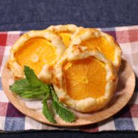 爽やかオレンジパイ