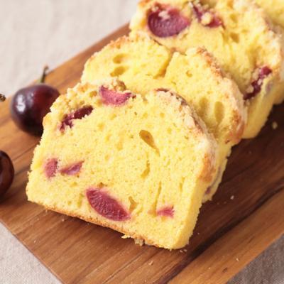 さくらんぼのパウンドケーキ