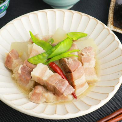 塩豚と大根の煮物