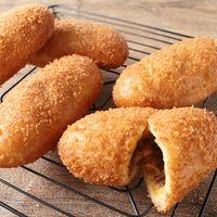 キーマカレーのチーズカレーパン