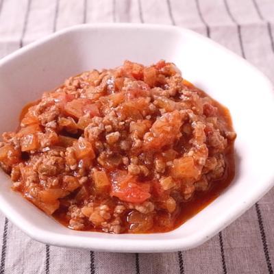 トマト缶で簡単シンプルミートソース