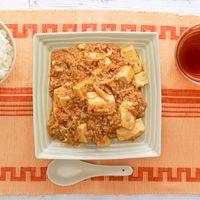 シャキッと えのき入り麻婆豆腐