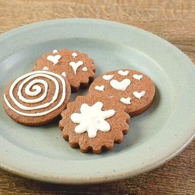 チョコレートペンで簡単デコクッキー