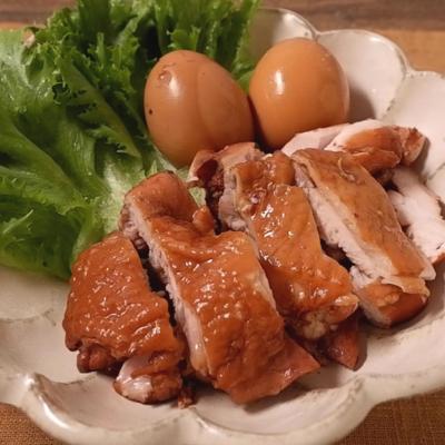 しっとり柔らか 鶏もも肉の紅茶鶏
