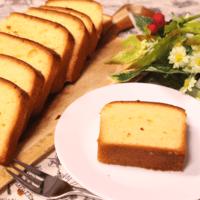 しっとり!ふんわり香るバニラパウンドケーキ