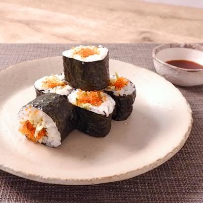とびこと生わさびの巻き寿司