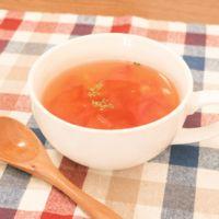レンジで簡単 トマトスープ