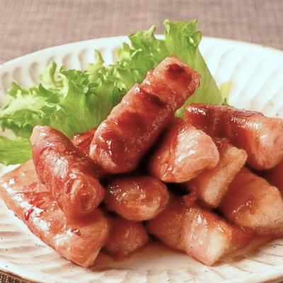 シャキ旨 長芋の豚バラ巻き