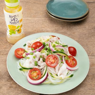 味付け簡単!さっぱりタイ風春雨サラダ