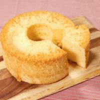 シンプルな!基本のシフォンケーキ