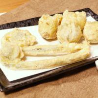春の山菜といえばこれ!ふきのとうとこごみの天ぷら