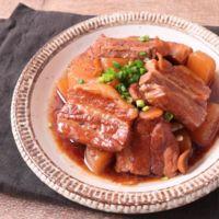 炊飯器で簡単柔らか豚バラ大根