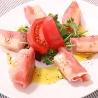 生ハムとトマトの簡単前菜!
