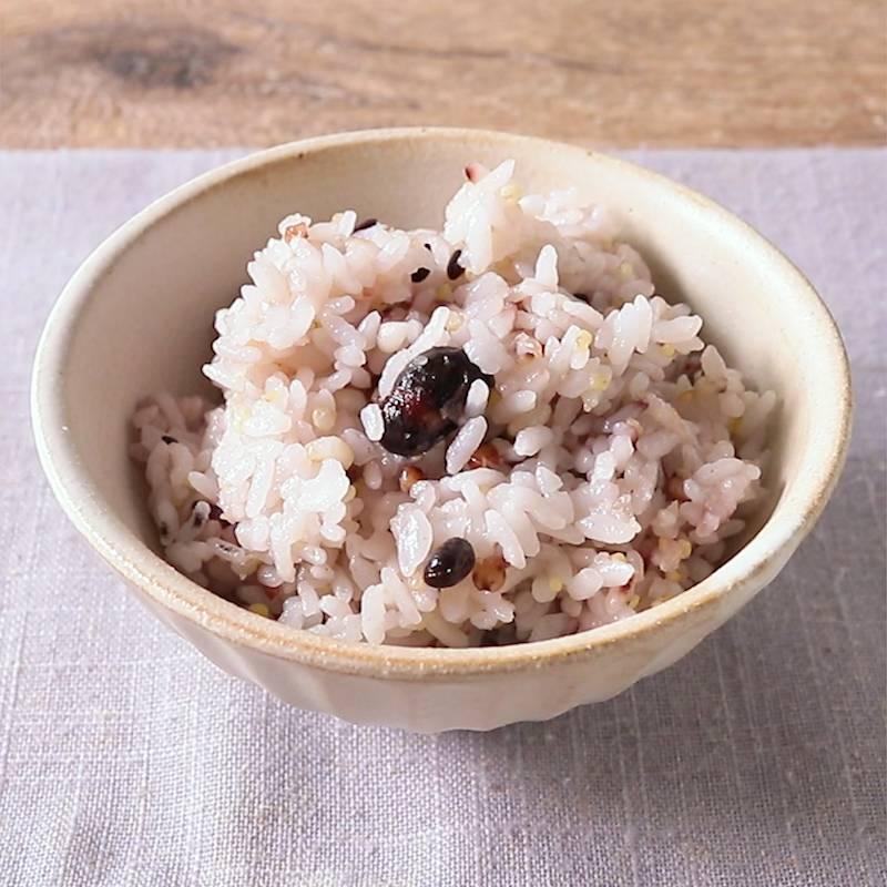 方 赤飯 の 炊き