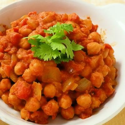 ひよこ豆たっぷり チャナマサラ