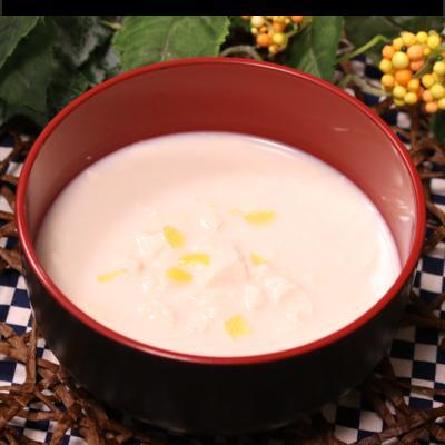 あったか 豆腐と豆乳のスープ