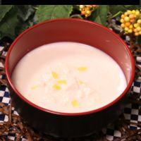 あったかヘルシー豆腐と豆乳のスープ