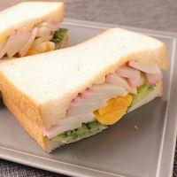 かまぼこの和風サンドイッチ