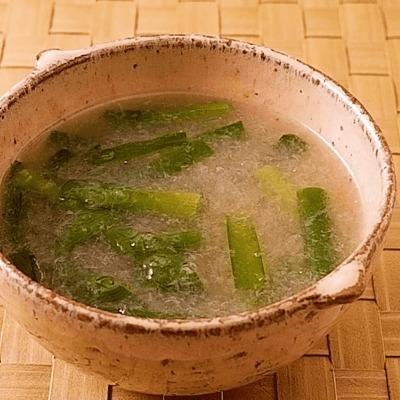 中華風ニラ大根トロトロスープ