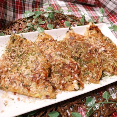 イカと葱のお好みチーズ焼き