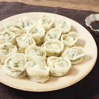 豆腐であっさり 蒸し餃子