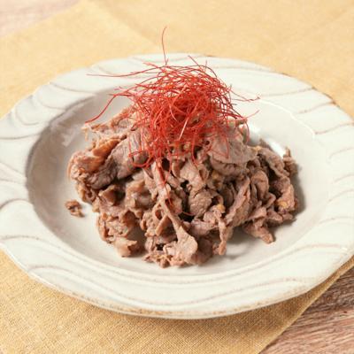 常備菜に たっぷり生姜の牛肉山椒しぐれ煮