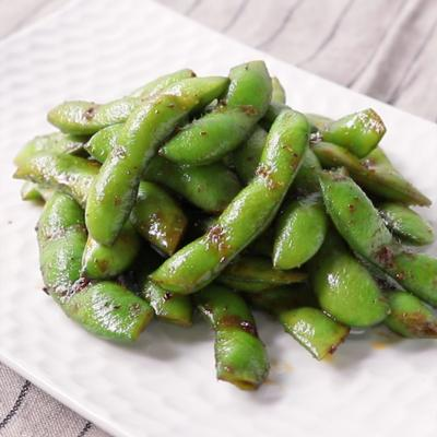 枝豆のスパイシーエスニック炒め