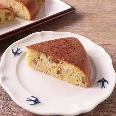 炊飯器で 白みそパウンドケーキ