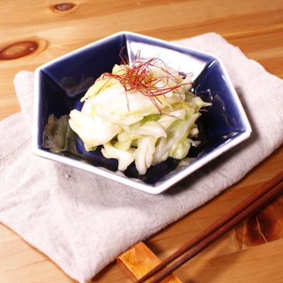 簡単!春キャベツの塩もみ生姜漬物風