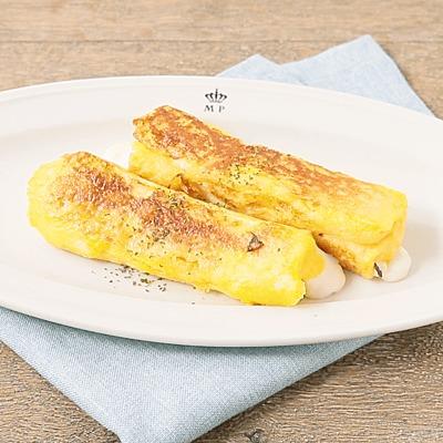 のびーるチーズとハムのフレンチトースト