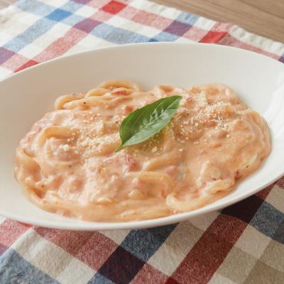 ブルーチーズ香る  トマトとチーズのクリームうどん