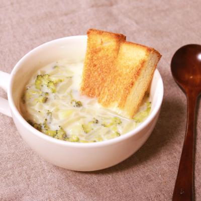 朝はこれで決まり!ブロッコリーのポタージュスープ