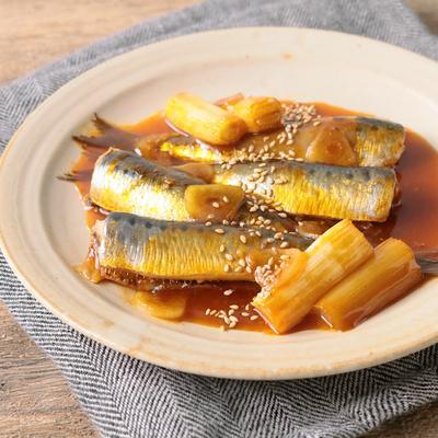 ピリ辛 イワシのコチュ味噌煮