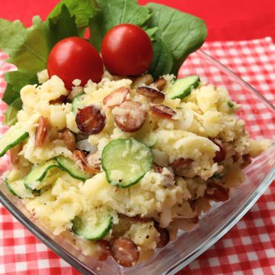 カリカリウインナーのポテトサラダ