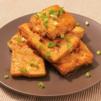 甘辛 豆腐ステーキ