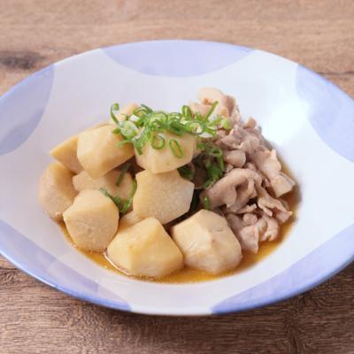 里芋と豚ばら肉の煮物