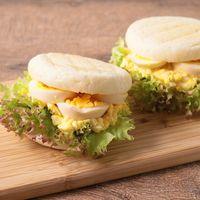 卵たっぷり 煮卵風サンドイッチ